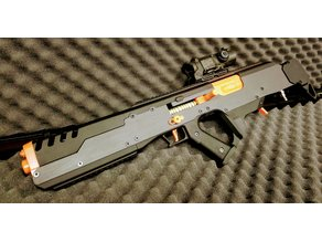 BLACK BETTY - HPA Select-Fire  Foam Blaster