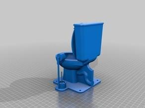 Toilet Lamp (literally)