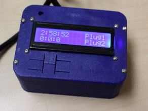 box for DFRobots LCD display with room for arduino
