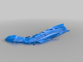 Destiny Thorn Hand Cannon: Cut for Printing