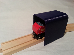 80mm long Tunnel for wooden train set