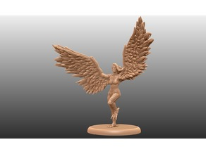 Harpy Action Pose - Tabletop Miniature