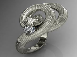 Orm ring/Bague serpent