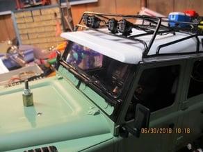 Land Rover D90 D110 1:10 Scale Sun Visor