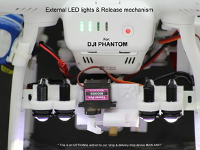 Spare parts for DJI Phantom SARbox add ons