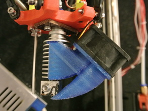 E3D Chinese extruder fan duct