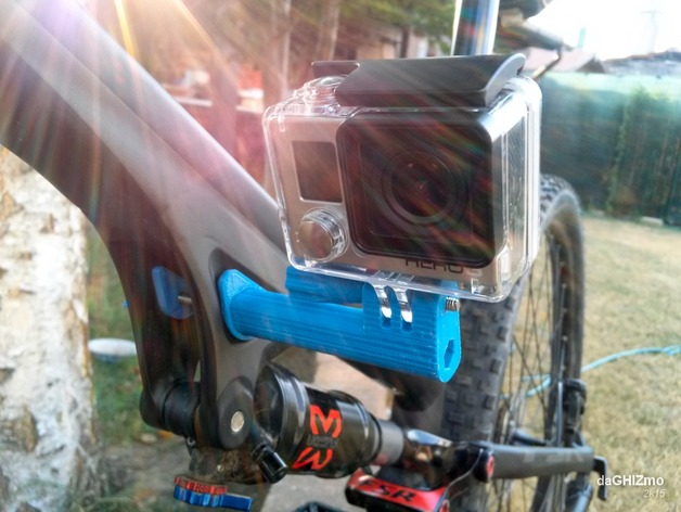 GoPro side mount for Specialized Camber by daGHIZmo
