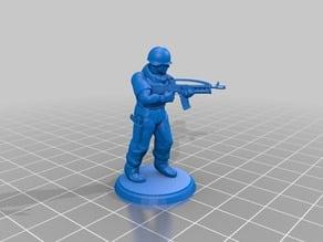 Modern Soldier - Futuristic Rifle