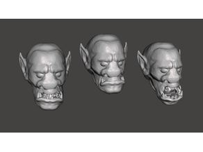 Lone Wolf Giak / Orc Heads