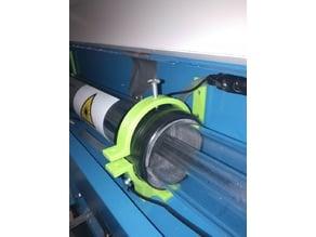 Yet another laser tube holder