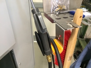 Protection of compressed air Downpipe for Haas CNC