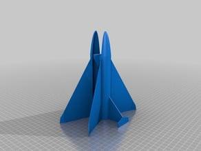 Rocket Plane Glider Set
