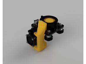 Coolatron fanduct Tevo Tarantula 50x50x15 blower