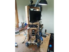 Sheet Crawling Laser Cutting Omni Wheel Robot