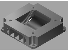 Anycubic Delta Fan part cooling converter Duct 40 to 30 mm