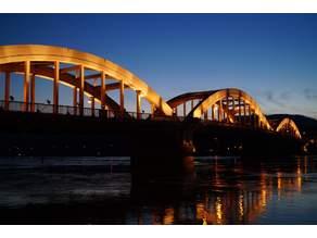 Pont de Neuville sur Saône