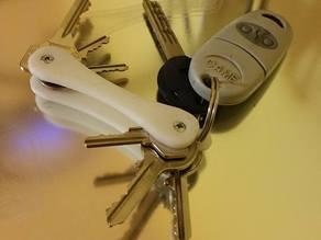 Simple swiss keychain