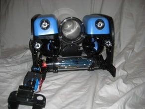 3d printed frames for a Blue Robotics Bluerov 2