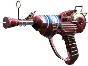 Ray Gun from Black Ops SOME CODE INCLUDED