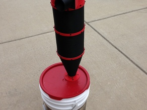 Cyclone Separator for a Shop Vacuum