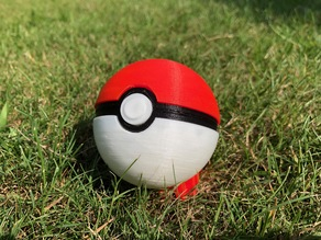Pokeball (easy to print)