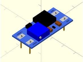 MT3608 voltage booster model