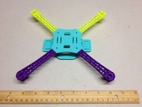 Printed Micro Quadcopter