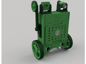 Self Balancing Robot Development Platform ( Fusion 360 design files included )