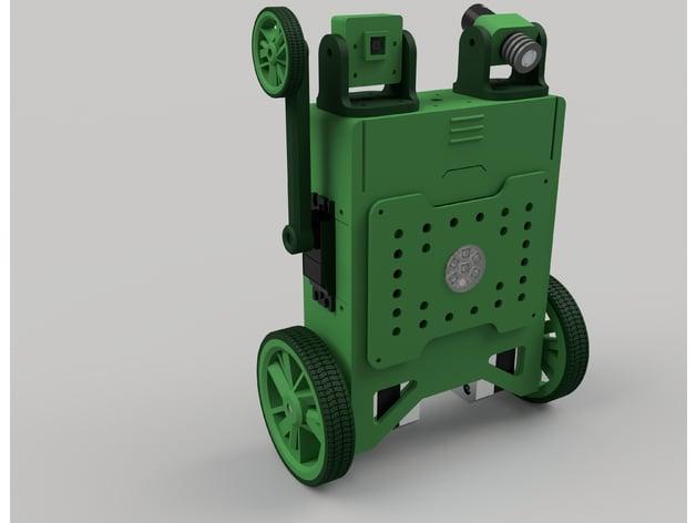 Self Balancing Robot Development Platform ( Fusion 360