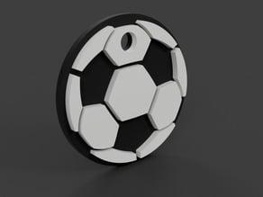 Soccer / Football Keychain