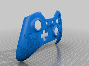 Xbox One S Custom Controller Shell - League of Legends Diana Edition