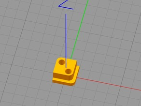 FrSky Taranis mounting brackets for Quanum Axis Gimbal Upgrade (HALL effect sensor upgrade)