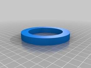 Centering ring for DynaPack Dyno for VW/Audi/E30/Lamborghini 57.1mm Hub