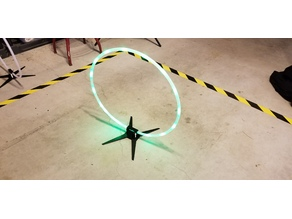Micro drone/Tiny Whoop LED circle gates