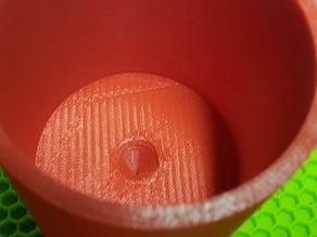Aquarium drip cup