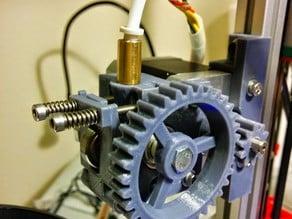 Kuro's Compact Geared Bowden Pushfit Extruder