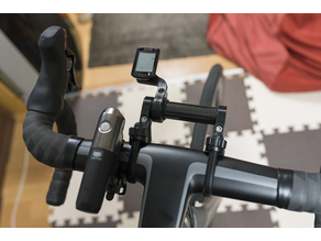 Extension mount for aero handlebars