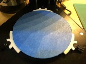 MP Mini Delta 120mm Glass Build Plate Holders