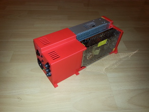 Dual PSU brackets and wiring cover