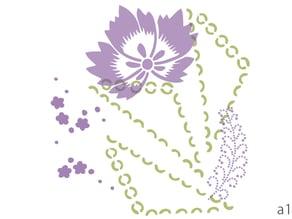 new pattern design based on Ise katagami