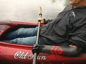 Terminal device for kayaking