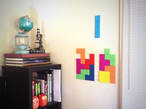 Giant Tetris Wall Art
