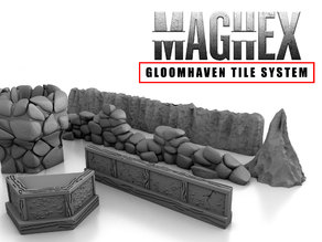 MagHex Walls for Gloomhaven
