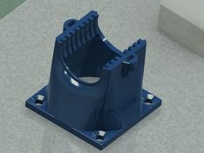 Fan duct for 25x25mm heatsink