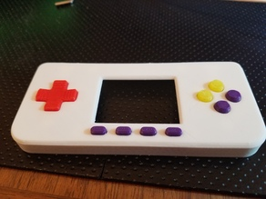 Color Buttons for Raspberry Pi Zero Gameboy