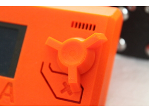 just another Prusa i3 LCD knob