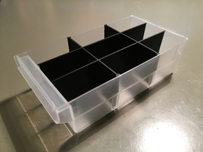 Divider for Assortment Rack (Aldi, VarioPlus Hobby 33)