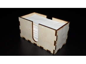 [Lasercutter] Tissue Box / Taschentuch-Box