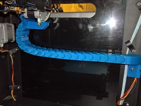 FlashForge Creator Pro X-Axis Cable Chain