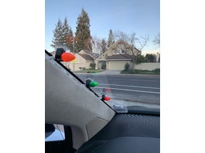 Christmas Light Holder for Car Window